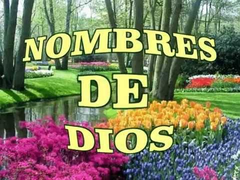 """NOMBRES DE DIOS y sus significados, """"cuales son los nombres de Dios"""""""