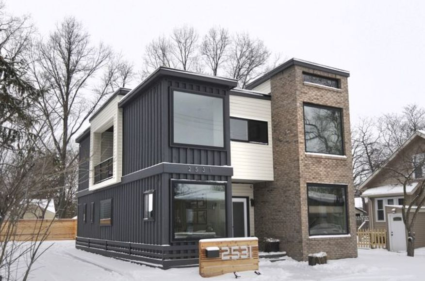Private Residence Container Home Architect Magazine Designhaus