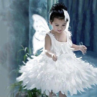 Little White Fairy Kids Christmas Costume Halloween Costumes 2366219 2016 25 59 Girl Princess Dress Fairy Dress Costume Cheap Flower Girl Dresses