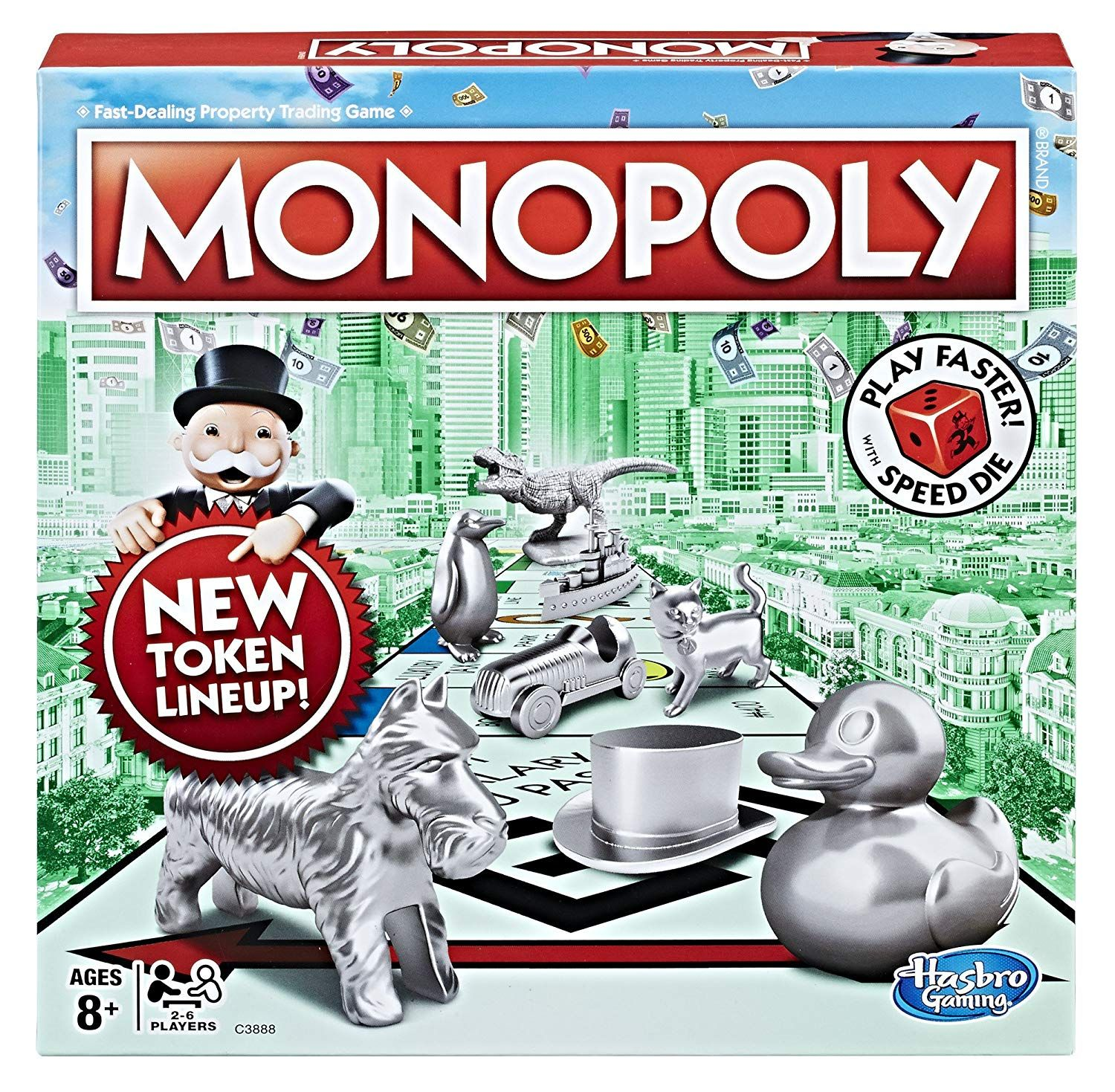 Monopoly Speed Die Edition Monopoly, Games, Board games