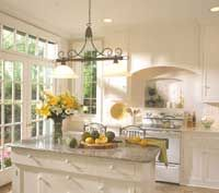"""Which Kitchen Layout Fits Your House? Kitchen Island """"measures at least 10x10"""" - UGH, for small space planning"""