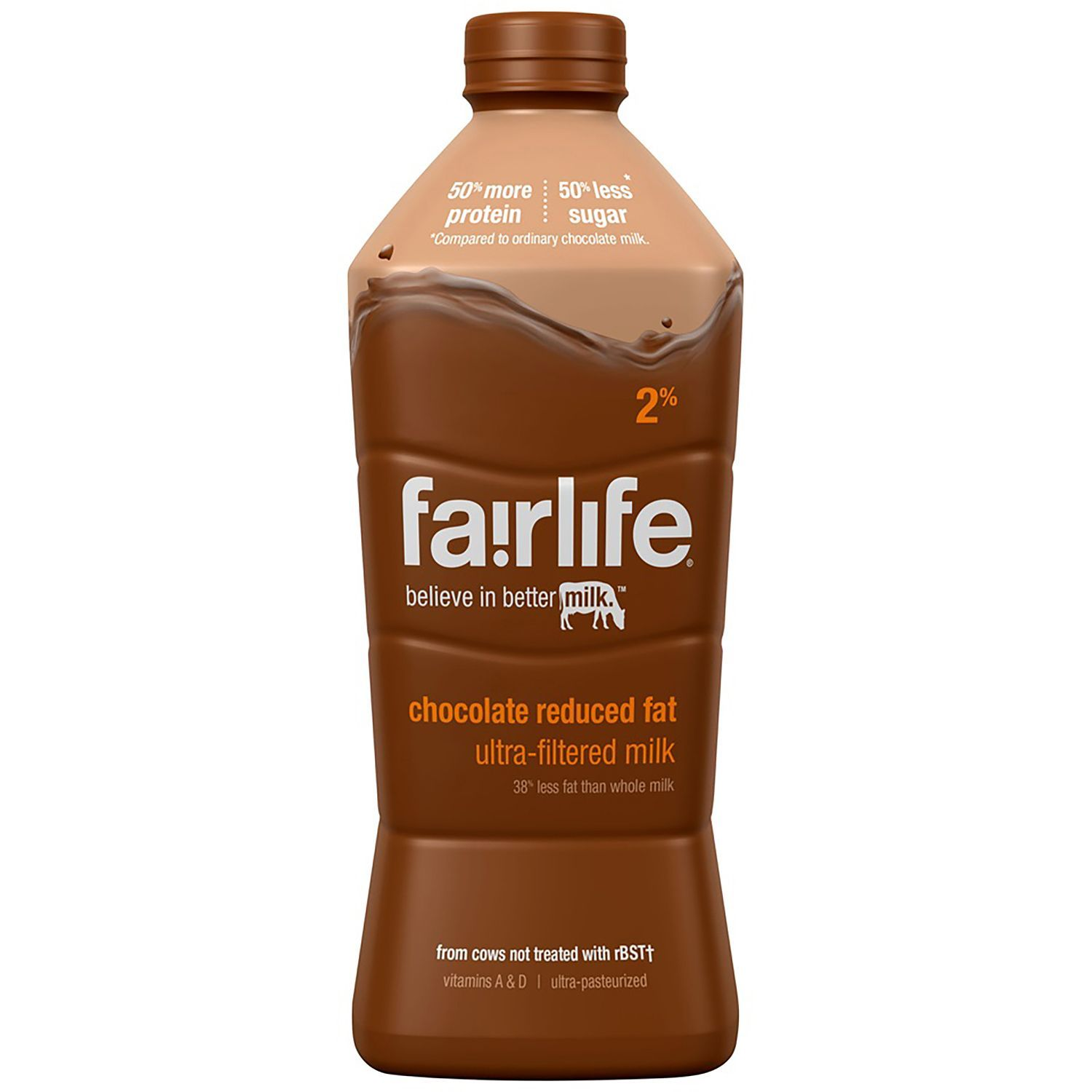 Fairlife 2 % Chocolate Ulta-Filtered Milk ( 52 oz., 2 ct.) - Sam's ...