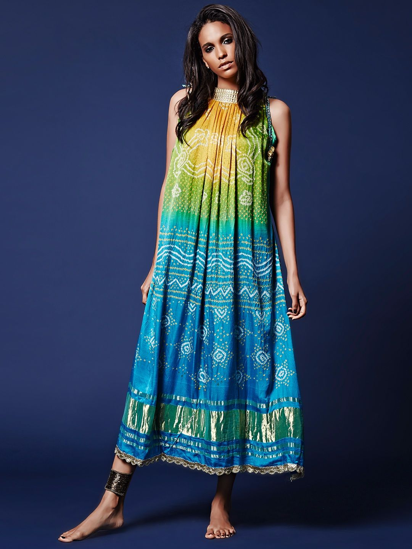 Silk green and blue silk kurti aes pinterest kurti silk and