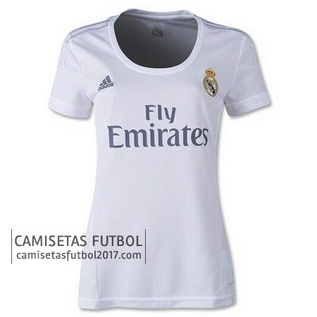 Primera camiseta de Mujer Real Madrid 2015 2016 - camisetas de futbol baratas - nueva camiseta ...