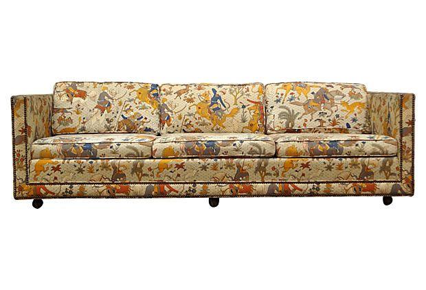 Sofa W Nailhead Trim By Henredon On Onekingslane Com In