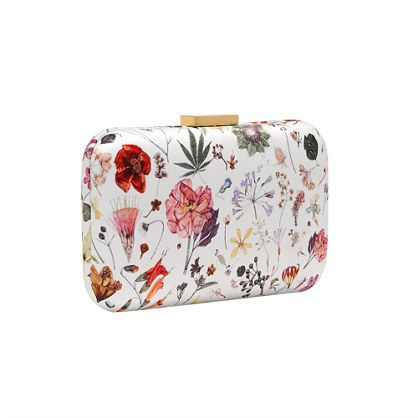 To hold onto. (J. Crew | Liberty Minaudière in Floral Eve)