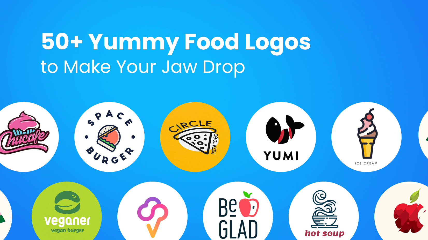 50+ Yummy Food Logos to Make Your Jaw Drop Logo food