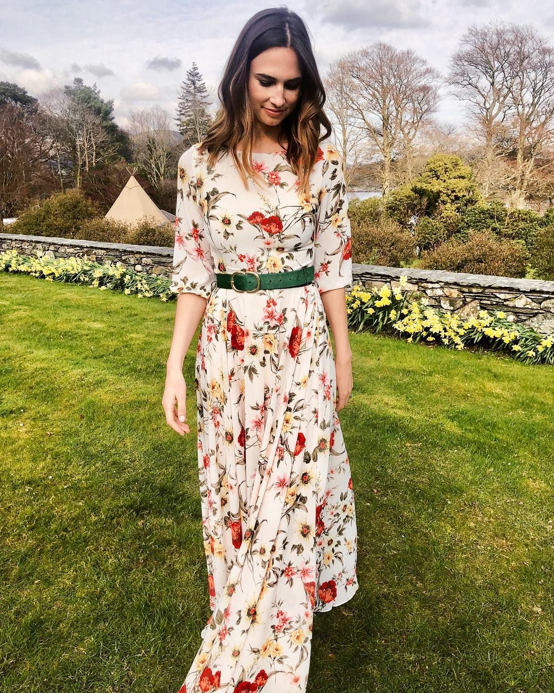 Alicemeliajeffrey In The Giselle Maxi Floral Maxi Long Sleeve Maxi Wedding Season Wedding Guest Dress Wedding Party Dresses Guest Dresses [ 1350 x 1080 Pixel ]