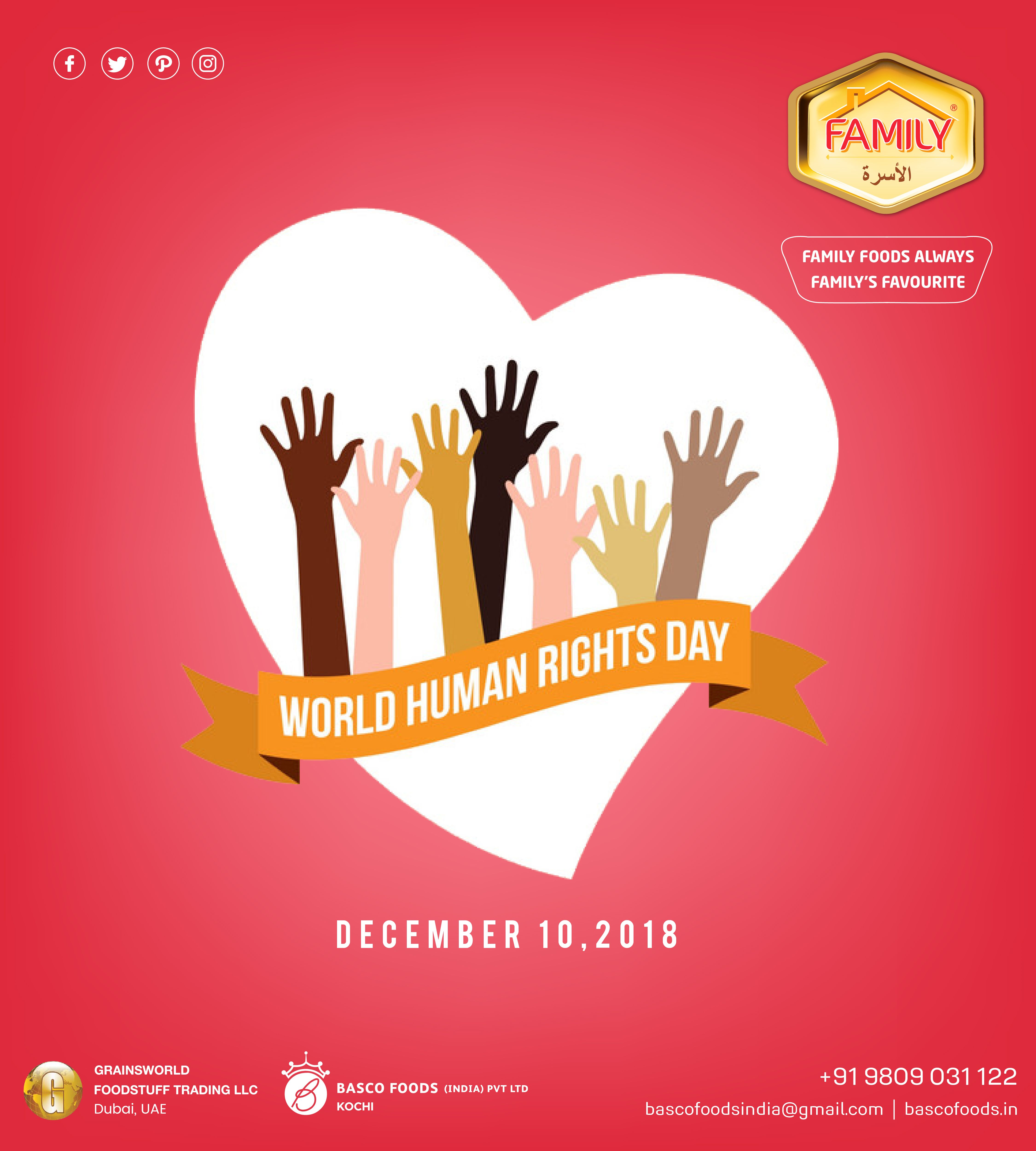 We all deserve the same rights, World Human Rights Day