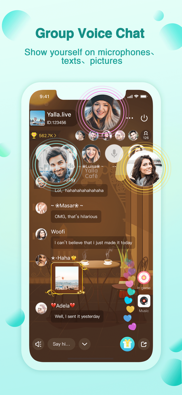 ‎Yalla Group Voice Chat Rooms on the App Store in 2020