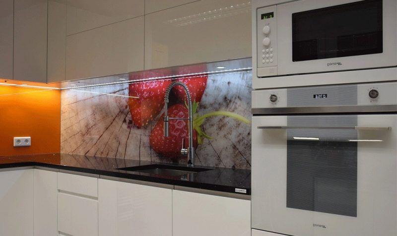 19 tendenziöse Ideen für Küche Glasrückwand - fototapete für küchenrückwand