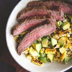 Steak & Charred Corn Salad
