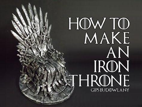 17 Best Diy Game Of Thrones Crafts Game Of Thrones Cake Iron