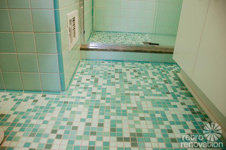 Rebecca 39 S Mid Century Bathroom Remodel Using Nemo Tiles
