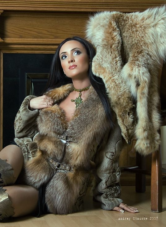 Old Fashion Fur Pelt