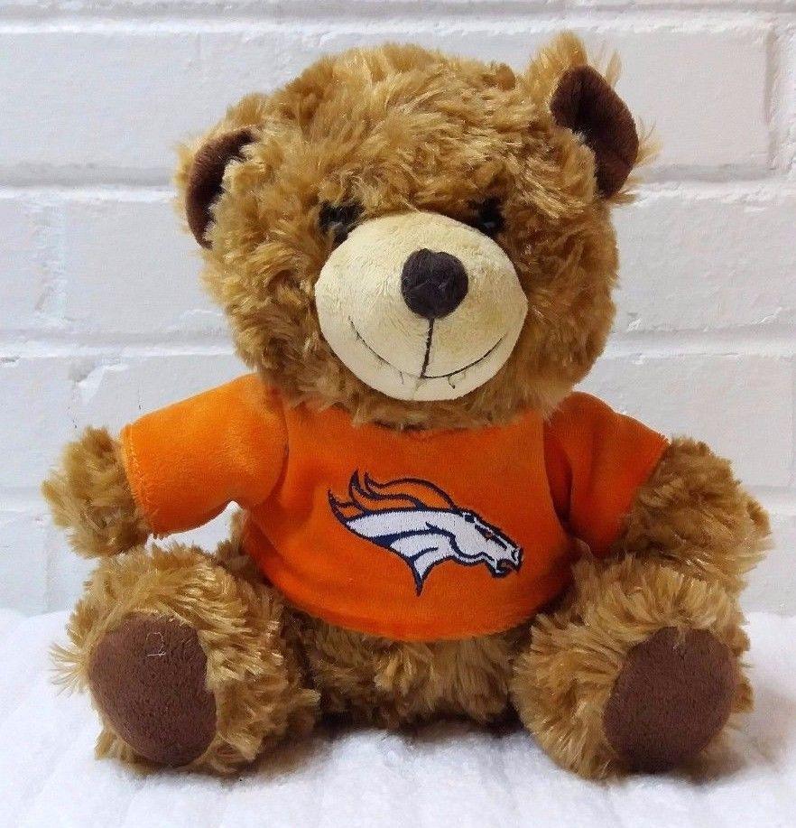 Denver Broncos Teddy Bear Stuffed Animal Plush Forever Collectibles