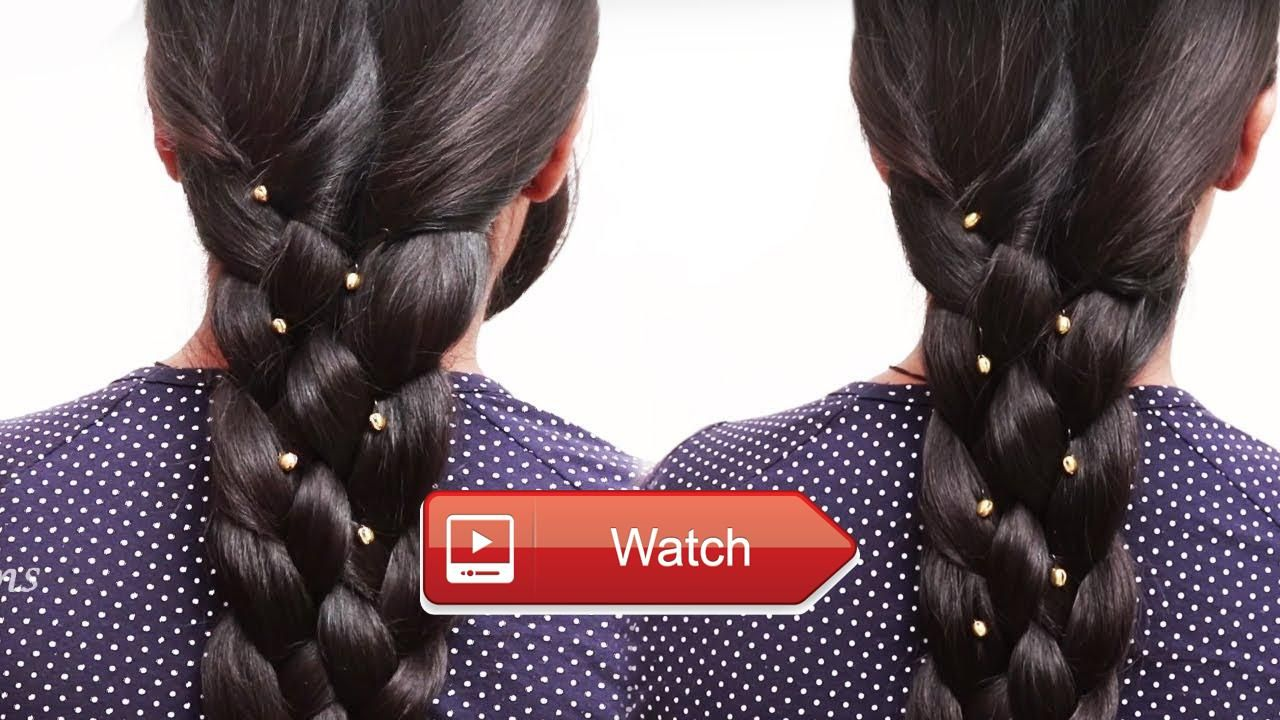 Everyday quick easy hairstyles with french braidhairstyles for