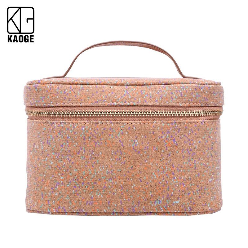 #multifunctional #natural #cork #travel #female #storage #make #case #necessaries #organizer #zipper #makeup #pouch #toiletry #kit #bag #special #purpose #bags