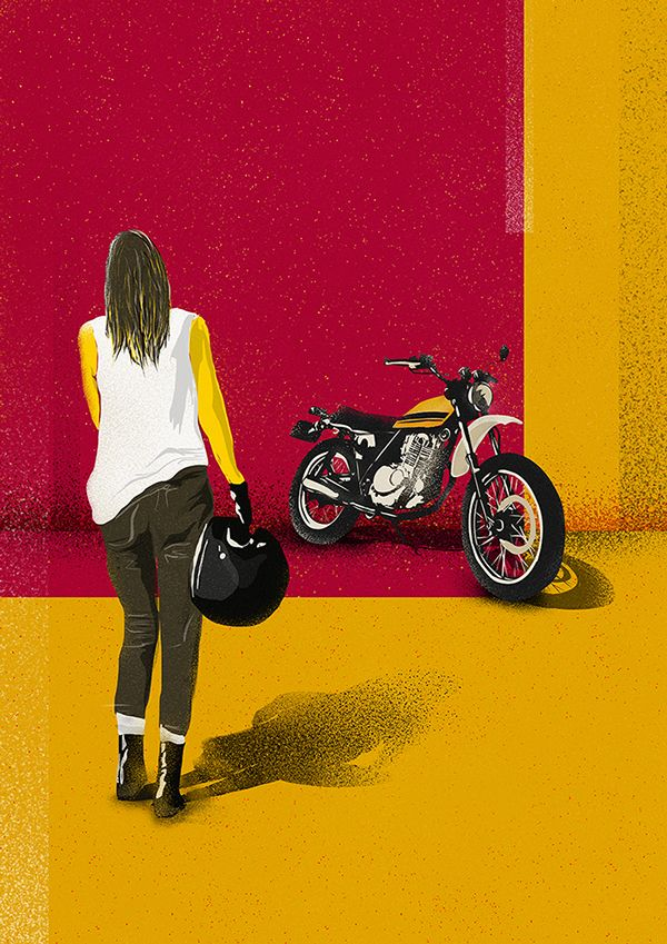 Little Whip - Stayano #illustration #design #motorcycles #motos | caferacerpasion.com