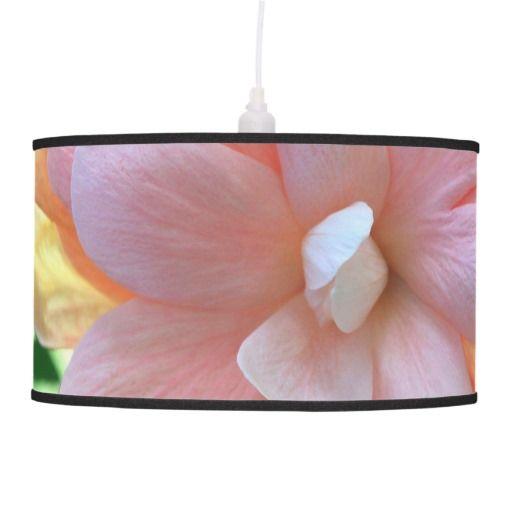 Gorgeous Hibiscus Flower Pendant Lamp