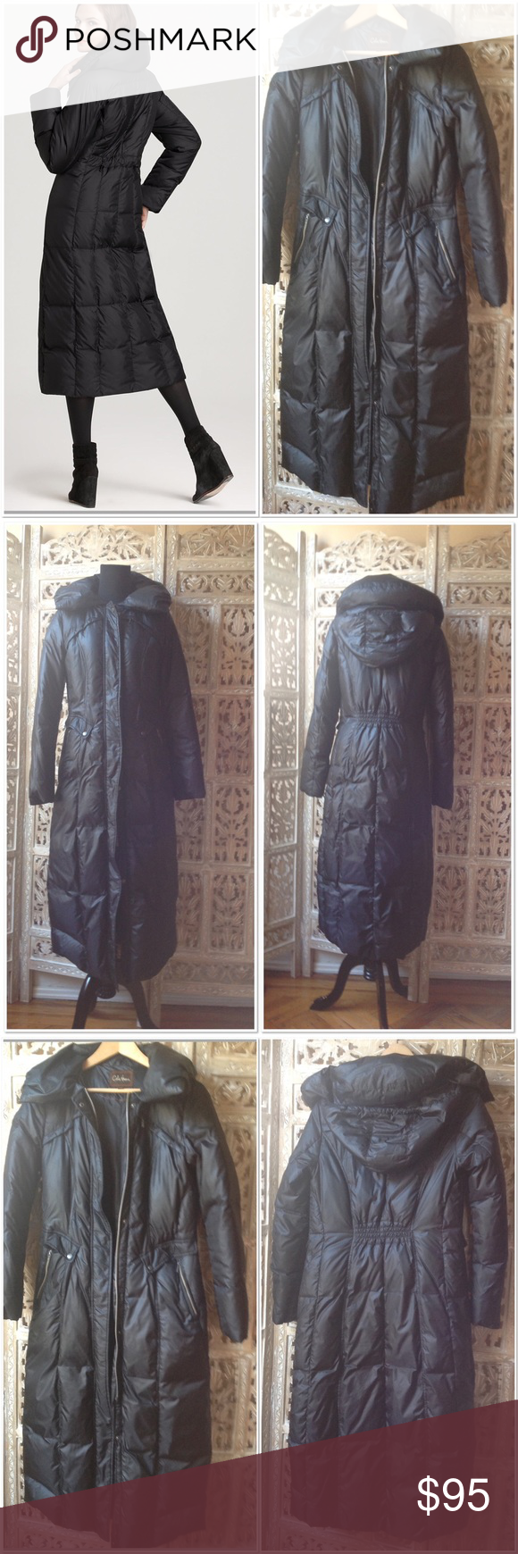 9a1d6b2fbb05 💫One day sale 💫 Cole Haan long maxi down coat S Cole Haan long maxi down  coat size S in black. Retail price $498. Coat has been worn once or twice.