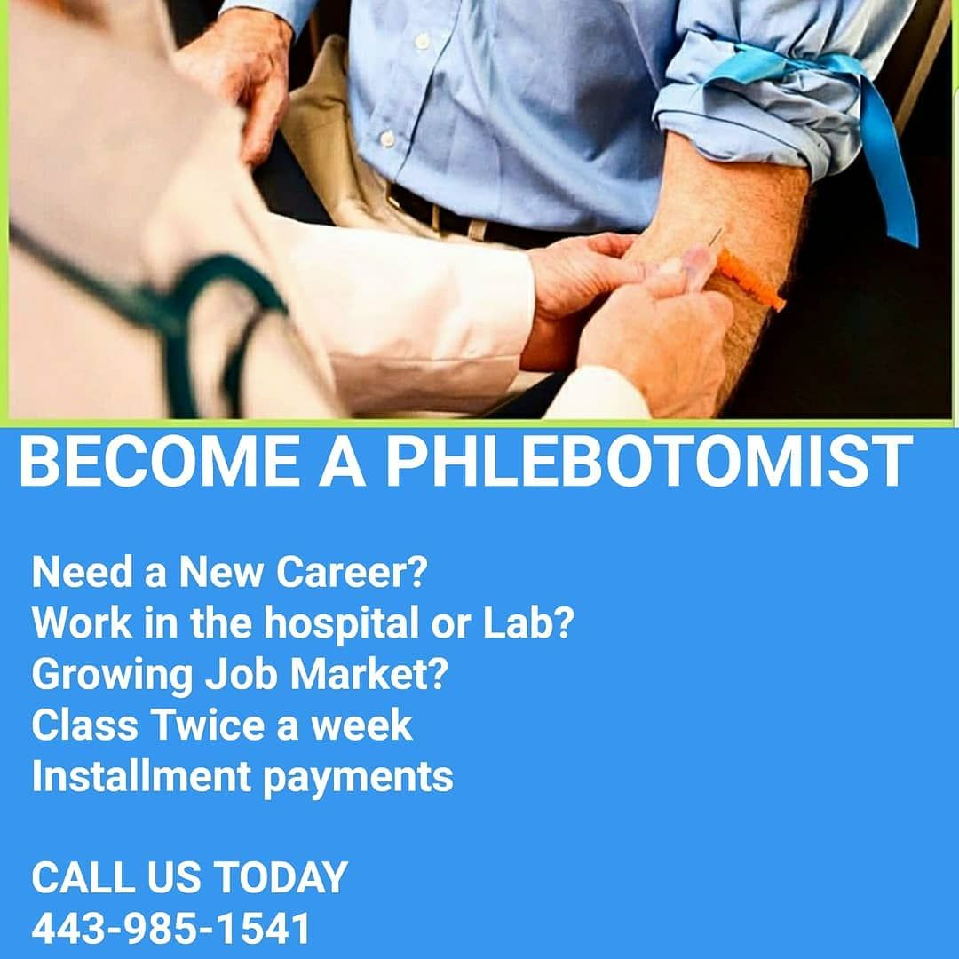Still time to register become a certified phlebotomy technician become a certified phlebotomy technician and receive your cpr certification 4 week course jump start your career in the medical field as a phlebotomist 1betcityfo Choice Image
