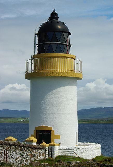 rudh an duin lighthouse aka port charlotte loch indaal light