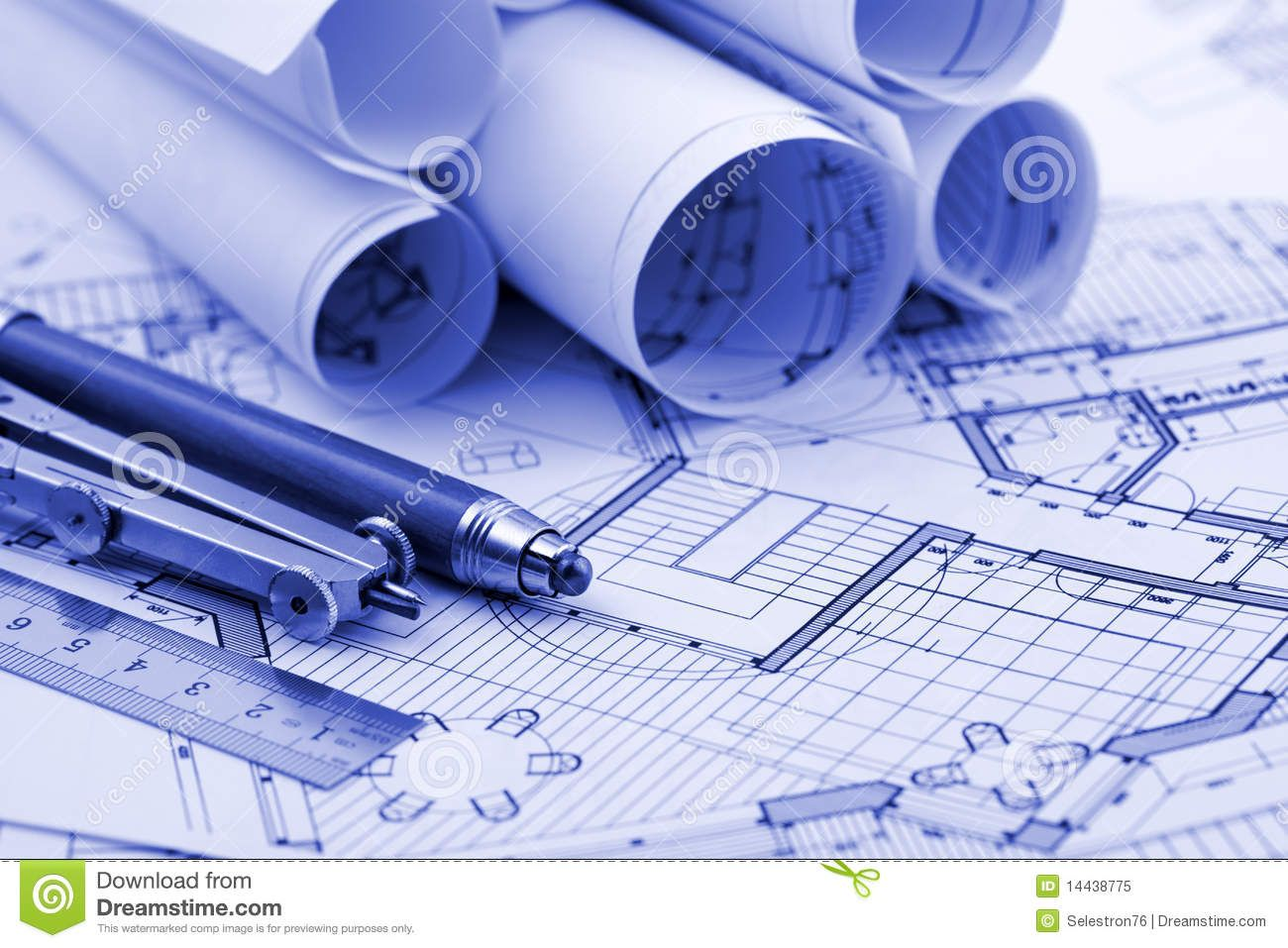 rolls architecture blueprint work tools 14438775jpg 1300957