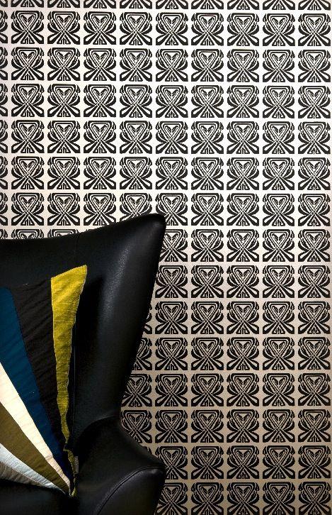 Metropolitan Wallpaper from Mimou . #wallpaper