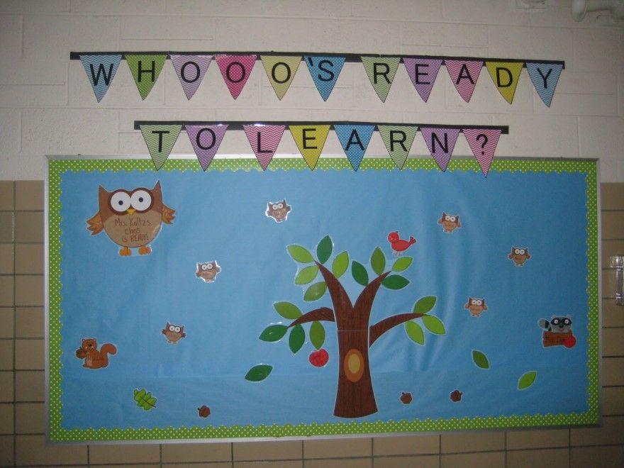 Classroom Bulletin Board Ideas With Owls ~ Owl bulletin board theme ideas designs
