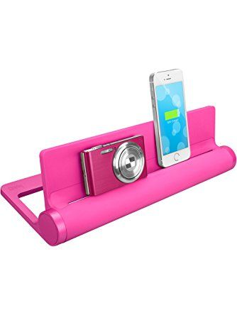 Quirky PCVG3-PK01 Converge Universal USB Docking Station, Pink ❤ Quirky Inc.
