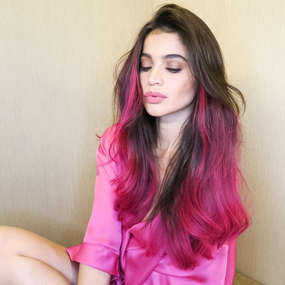 Anne Curtis Smith Hairstyle Pink Color Omg Curtis Smith Sister