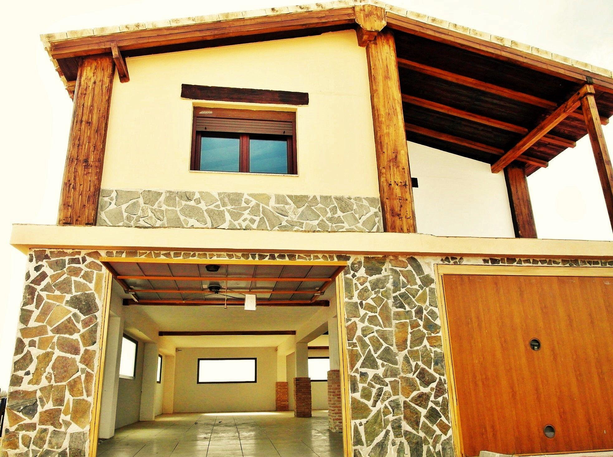 Casa de campo prefabricada con sotano casa prefabricada con sotano - Casas de acero y hormigon precios ...