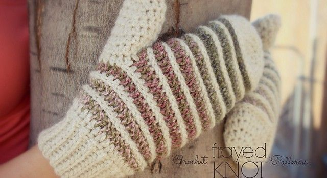 Free Pattern Men Women Boys Girls Alike Can Rock These Mitts