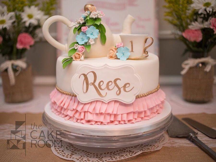 Tea Party Cake Tea Party Cake Birthday Tea Party Cake Girls