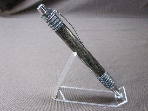 Custom Spartan Click Pen with Hackberry by ShjonsPensandStuff, $34.99