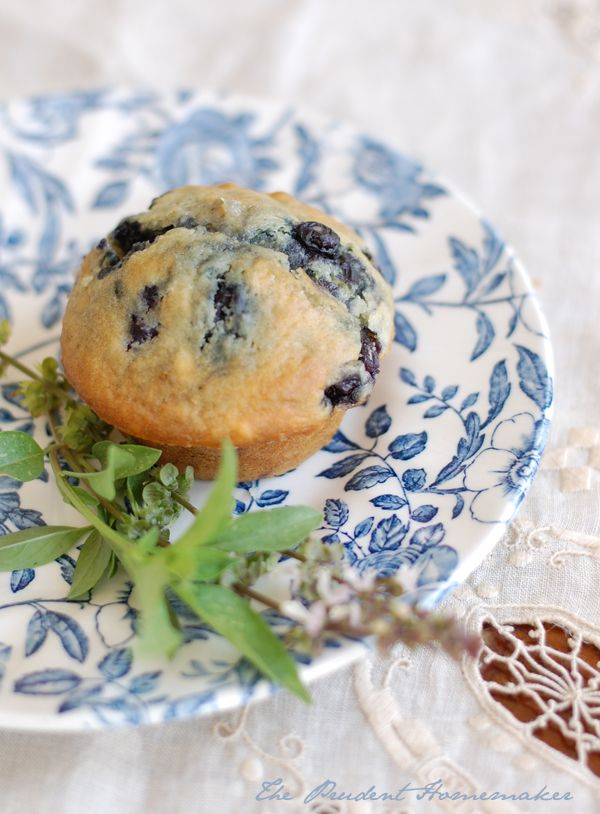Blueberry Muffins - making these as I type this!  Let's see how they turn out at the Moore house :)