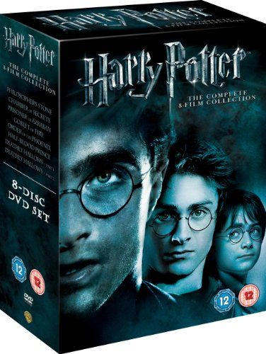 Harry Potter The Complete 8 Film Collection Dvd 2011 Amazon Co Uk Daniel Radcliffe Emma Watson Harry Potter Dvd Harry Potter Collection Harry Potter Films