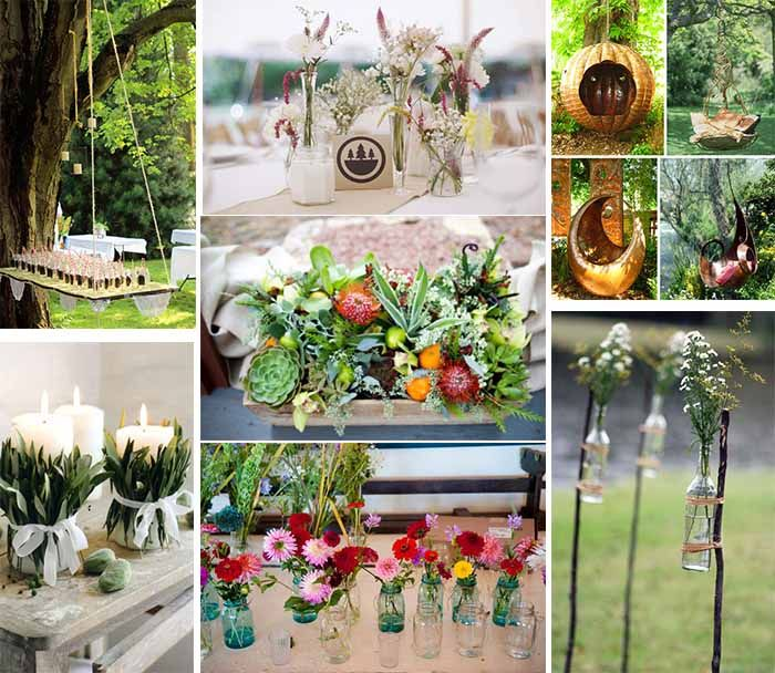 Camping Wedding Ideas: Incorpate Wedding Decoration With Nature