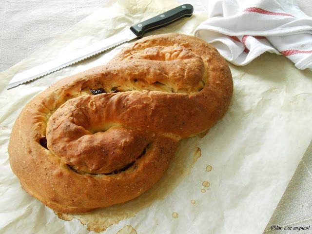 Ohh c'est mignon!: Olaszos csavart kenyér