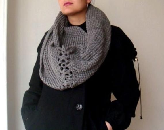 A PDF KNIT and CROCHET PATTERN for my knit circle scarf ...