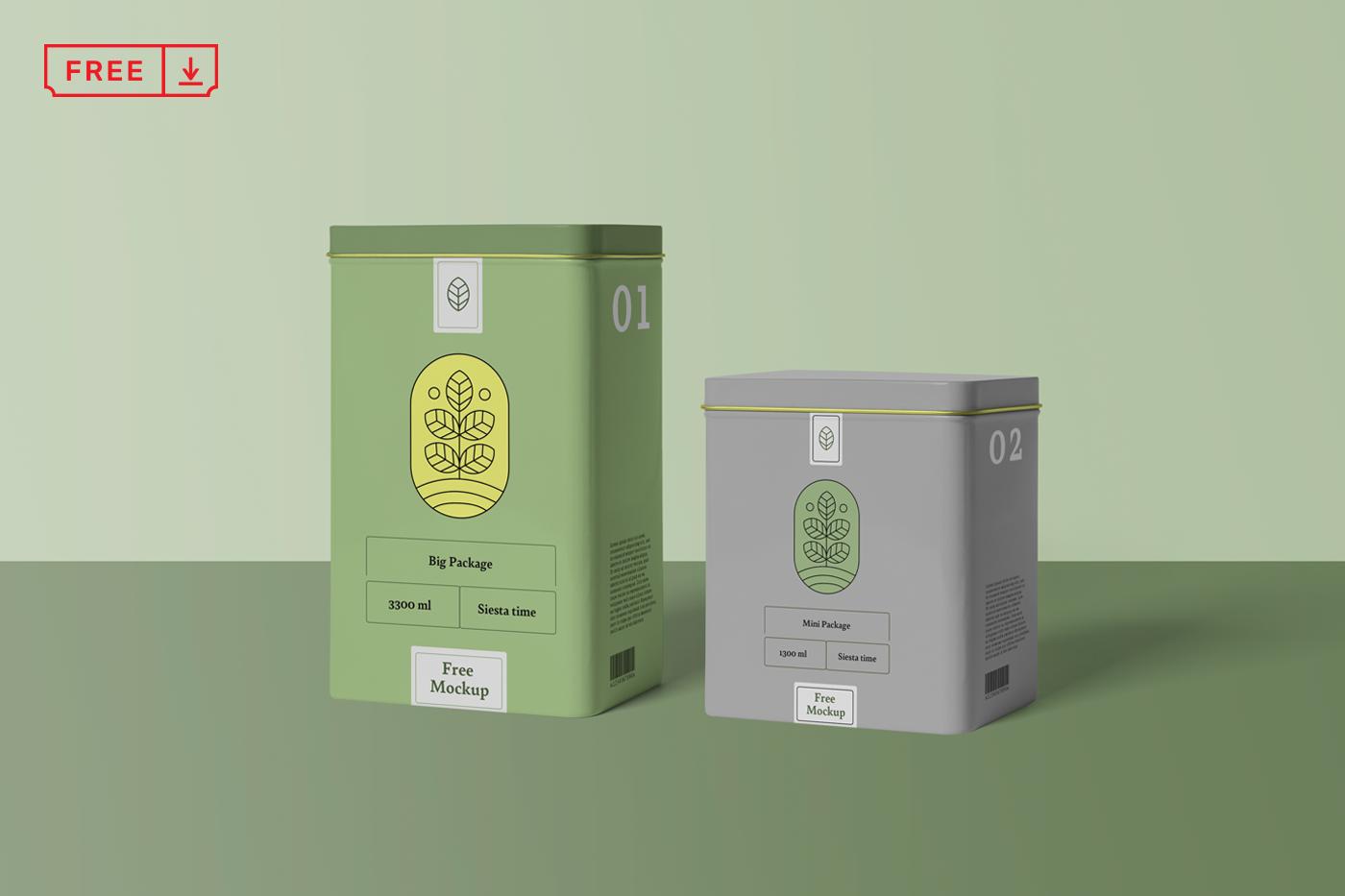 Download Free Psd Mockups Vol 10 On Behance Graphic Design Freebies Box Mockup Design Freebie
