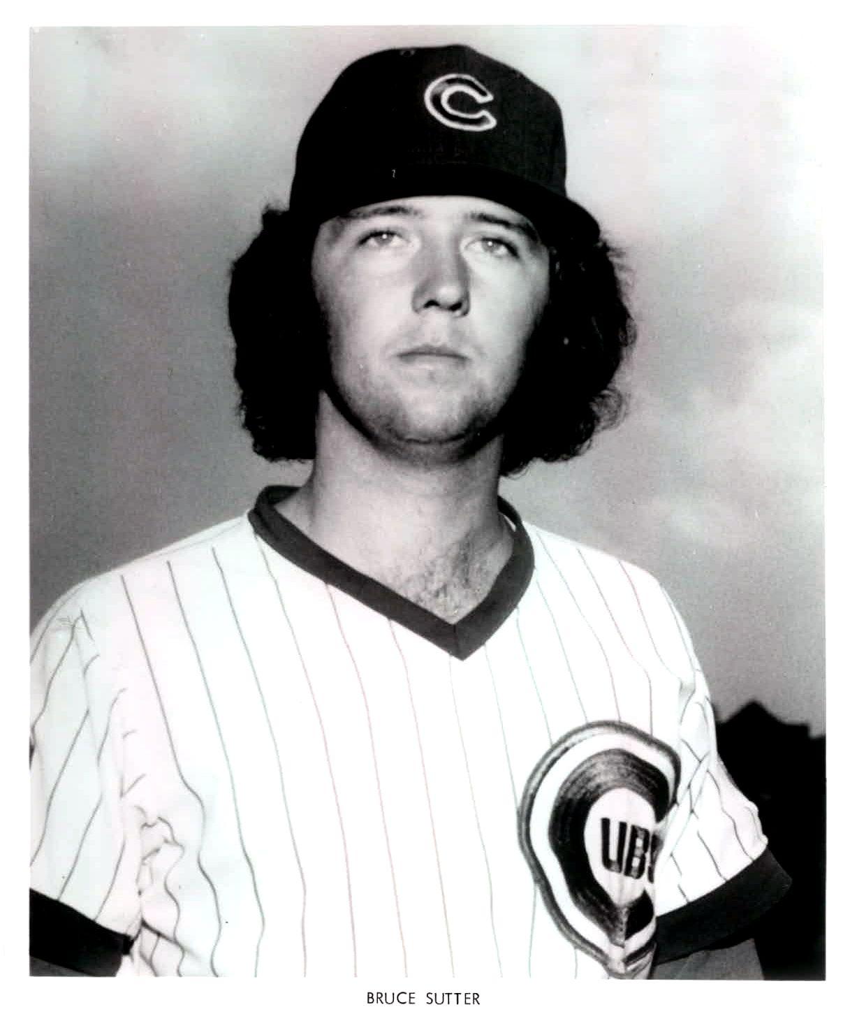 Bruce Sutter Chicago Cubs Baseball Cubs Players Cubs Baseball