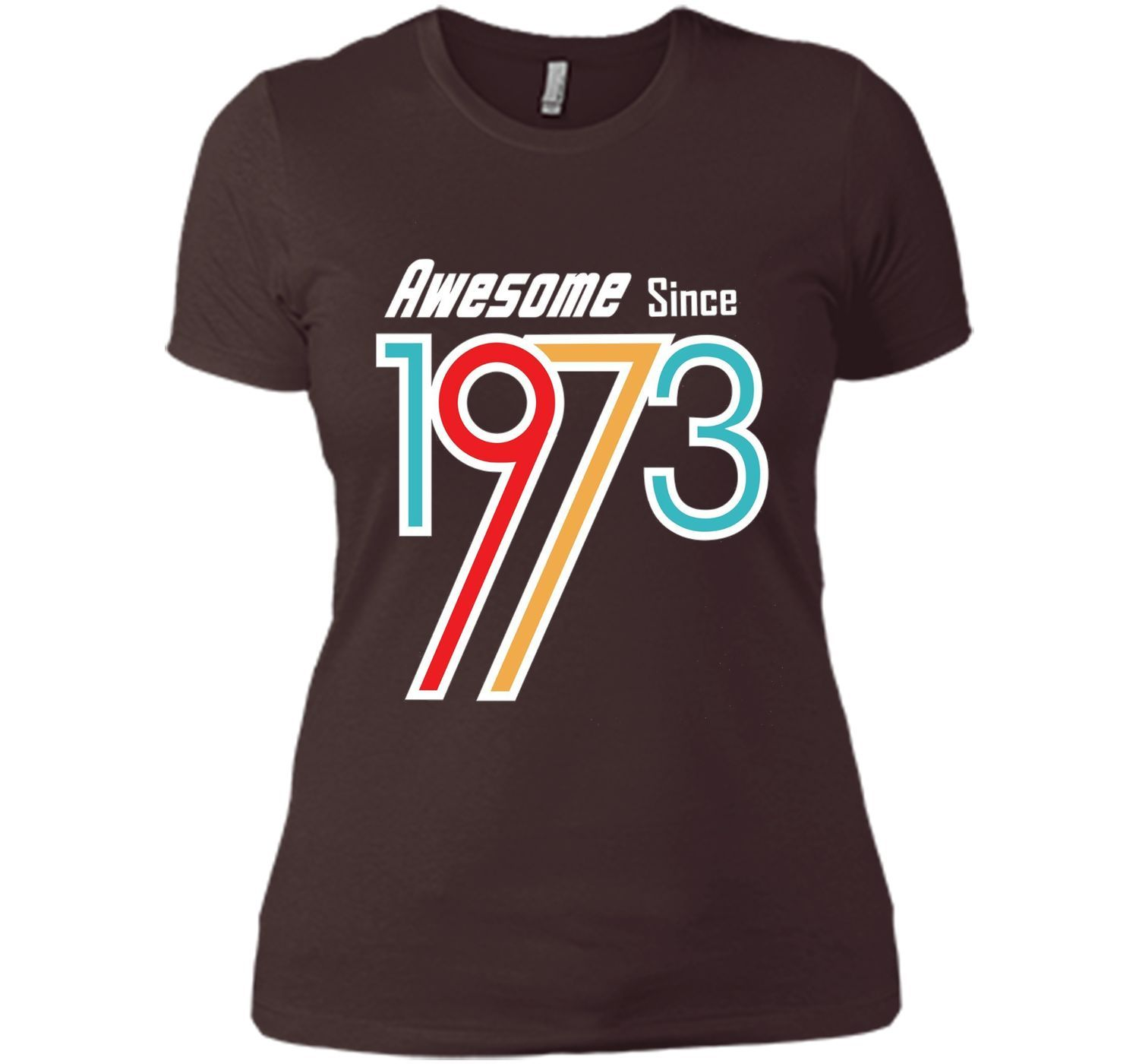 Awesome Since 1973 | 43st Birthday Gift T Shirt