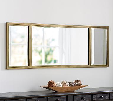 Jensen Wall Mirror Rectangle Welcome Mirror Frame