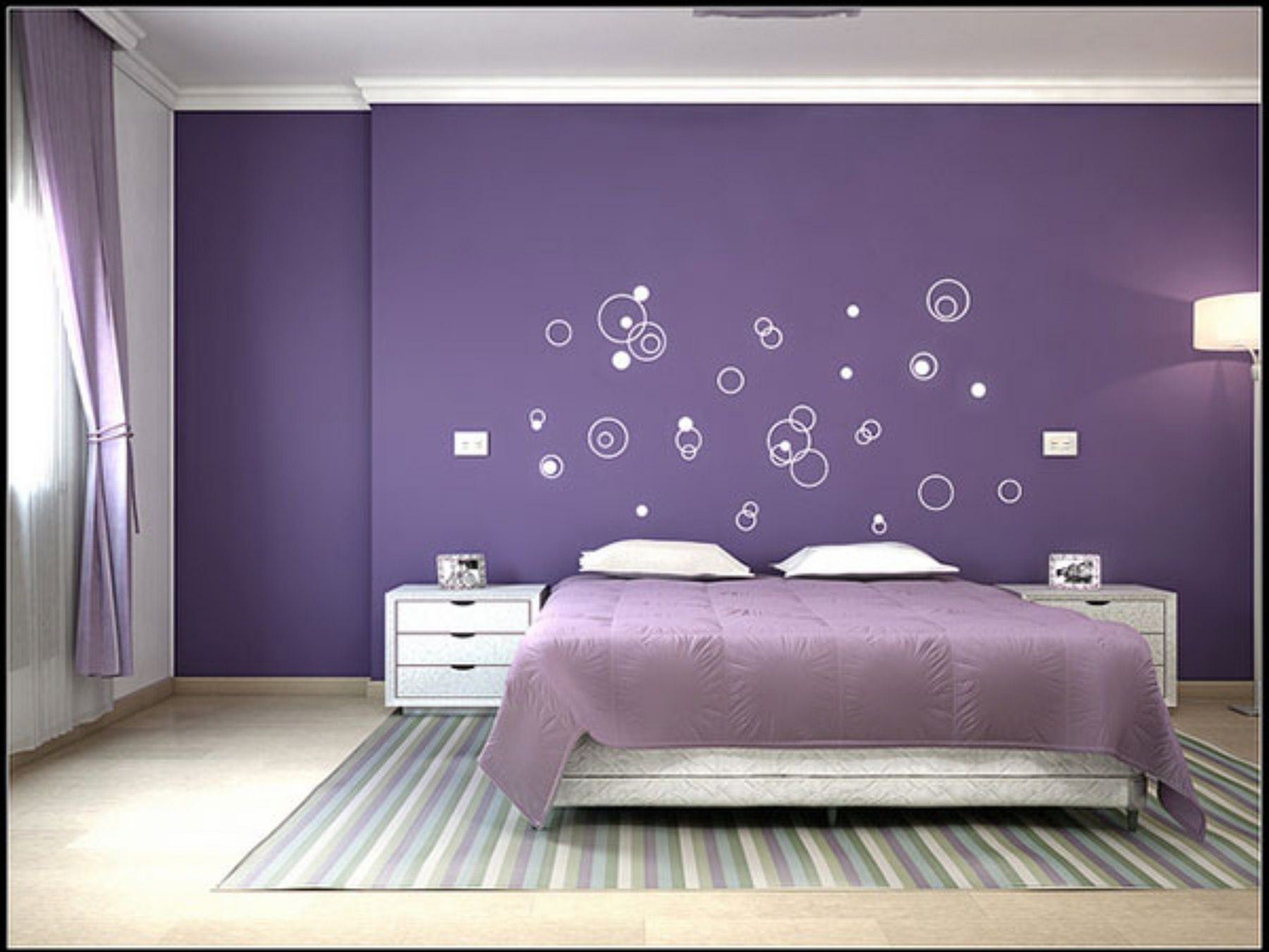 15 Extraordinary Bedroom Color Schemes For Cozy Room Ideas Bedroom Color Schemes Purple Bedrooms Purple Bedroom Color Scheme