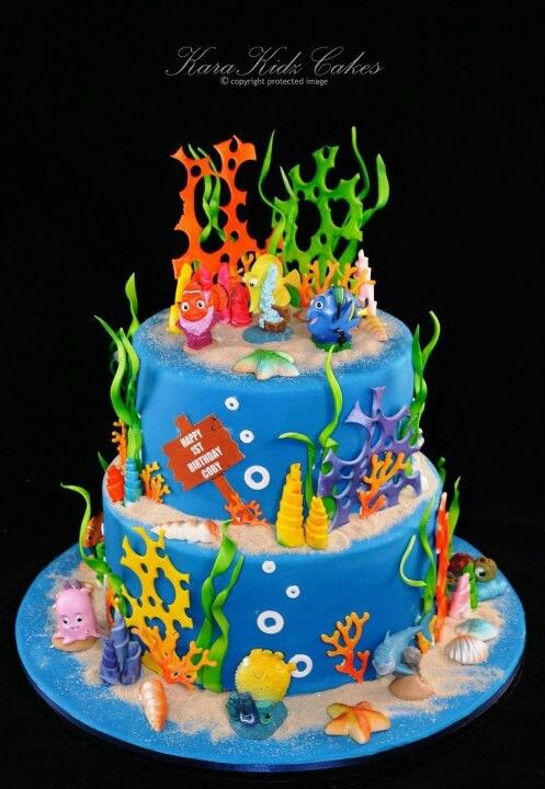 Awesome Underwater Themed Cake Under The Sea Amp Ocean