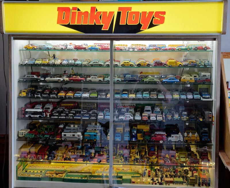 Image result for dinky store display | Matchbox car ...