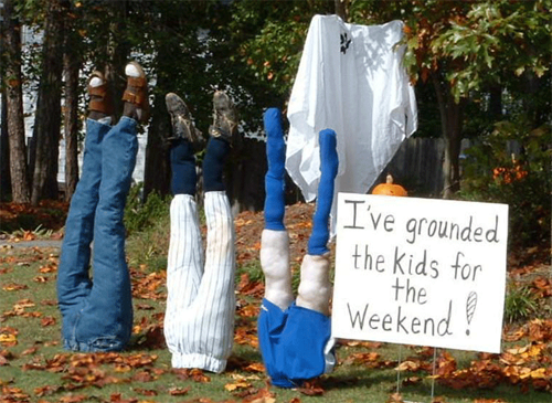 funny halloween prank front yard clever joke - Funny Halloween Prank