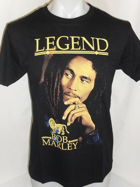0a0ad884e Bob Marley T-Shirt - Legend in 2019 | ✌Bob Marley✌ | Bob marley t ...